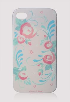 #Chicwish Floral Print Cellphone Case for Iphone4/4s - Mobile Phone Cases - Goods - Retro, Indie and Unique Fashion