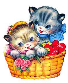 sweet kitties Valentine...ImagiMeri