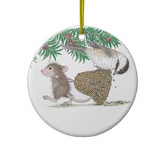 House-Mouse Designs® - Ornaments   Click on photo to purchase. Check out all current coupon offers and save! http://www.zazzle.com/coupons?rf=238785193994622463&tc=pin
