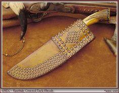 Brass tacks on knife sheath, How to. - Traditional Muzzleloading Forum - Muzzleloader Flintlock Black Powder