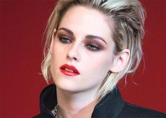 Kristen Stewart Stars Chanel Makeup Rouge Allure Ink Campaign Look-004