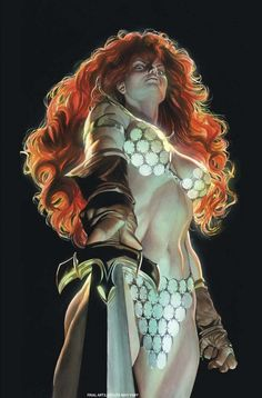 RED SONJA #1//Dynamite/Alex Ross/ Comic Art Community GALLERY OF COMIC ART