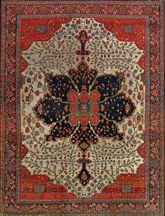 Persian Sarouk Farahan rug