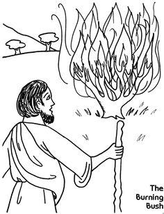 moses and the burning bush exodus 3 4