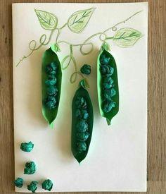 15 Easter Crafts for Preschoolers Paper Crafts For Kids, Projects For Kids, Diy For Kids, Fun Crafts, Diy And Crafts, Arts And Crafts, Easter Crafts, Vegetable Crafts, Art N Craft
