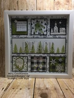 Best Shadow Box Ideas You Did Not Know About shadow box ideas Shadow box ideas (memory box ideas) Tags: Shadow Box Ideas diy, Shadow Box Ideas baby, Shadow Box Ideas memorial, military Christmas Shadow Boxes, Christmas Frames, Stampin Up Christmas, Christmas Projects, Holiday Crafts, Christmas Diy, Box Frame Art, Shadow Box Frames, Collage Frames