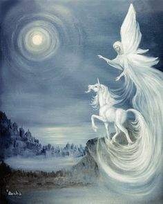 Unicorn and Angel