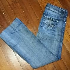 Guess Denim - Guess flare jeans with detailed pockets