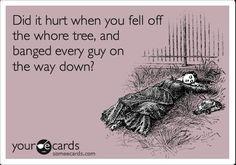 whore tree