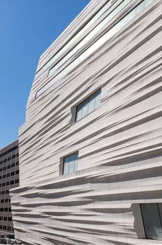 Museum von Snøhetta in San Francisco / Kräuselnde Fassade - Architektur und Architekten - News / Meldungen / Nachrichten - BauNetz.de