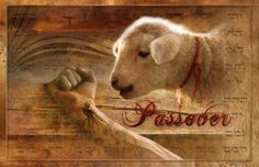 """For Christ, our Passover Lamb, has been sacrificed!"""