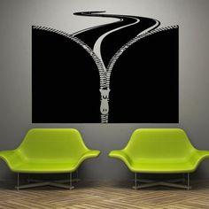 Mermaid Wall Decal Art Decor Decals Sticker Road Track Autobahn Cars Tool Highway Zipper Gift Room Fastener (M806) DecorWallDecals http://www.amazon.com/dp/B00HDFG644/ref=cm_sw_r_pi_dp_D2o2ub1PRSK0P