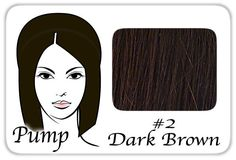 #2 Dark Brown Pro Pump - Tease With Ease