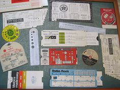 Lot of vintage slide rules/converters/paper calculators/ETC - Tools
