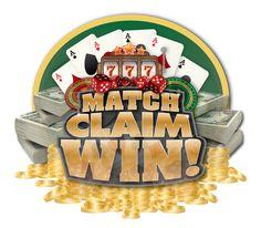 Match Claim Win Logo Portfolio Design, Logo, Portfolio Design Layouts, Logos, Environmental Print