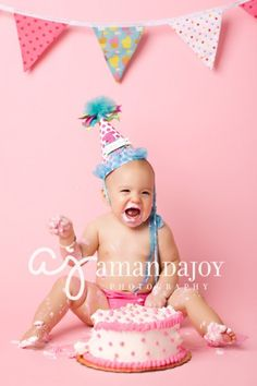 One Year old picture.. soo cute.