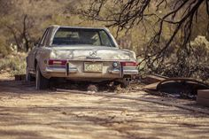 Abandoned Mercedes 280 SL