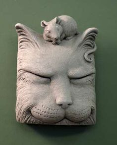 1161 #Carruth CatNap! Who would have thought a cat would sleep this happily with a mouse? #cat #mouse #gift #happy #garden #madeinUSA #handcrafted
