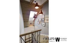 Dom z widokiem na gory klatka schodowa - Schody - Styl Skandynawski - Wytwórnia Pracownia Projektowa
