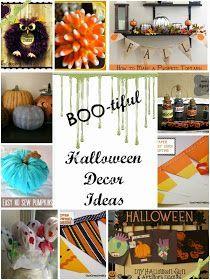 "Cheap Mama Chick: ""BOO-tiful"" Halloween Decor Ideas"