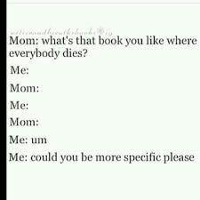 Really mom???
