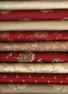 Rouenneries by French General for Moda Fabric 9 Fat Quarters Fat Quarter Bundle | eBay