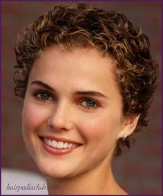 5 Short Haircuts For Curly Hair And Round Faces //  #Curly #faces #Hair #Haircuts #round #Short