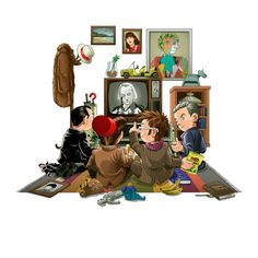 50 Years of The Doctor<--this is just adorable