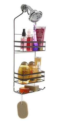 Bathroom Organization: BINO U0027Emersonu0027 Rust Resistant Over The Showerhead  Caddy, Bronze *** You Can Find Out More Details At The Link Of The Image.