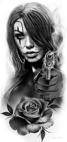 Мессенджер Chicanas Tattoo, Skull Girl Tattoo, Girl Face Tattoo, Smoke Tattoo, Inca Tattoo, Chicano Art Tattoos, Body Art Tattoos, Gangsta Tattoos, Sleeve Tattoos