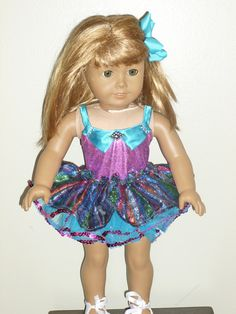 Let's TapDance Costume for an 18 inch doll by DancinDollsDesigns, $25.00