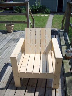 DIY chair idea for our front porch