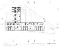 Edificio Residencial para Adultos Mayores,Planta Primer Piso