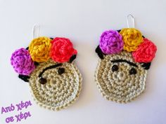 #από_χέρι_σε_χέρι #πλεκτό_κόσμημα #Κλεοπάτρα_Χρήστου #πλεκτο #κοσμημα #σκουλαρίκια #χειροποιητακοσμηματα #χειροποιητο #γυναικα #μοδα #δωρο #τεχνη #αξεσουαρ #crochetjewellery #woman #handmade #crochet #fashion #accessories #style #art #gift #girl #love #colorful #wearit #Greece #jewel #crochetearrings #lookoftheday Crochet Earrings, Barbie, Jewelry, Fashion, Accessories, Moda, Jewlery, Jewerly, Fashion Styles