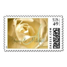 Wedding Cream Rose Green Monogram Names Stamp lowest price for you. In addition you can compare price with another store and read helpful reviews. BuyShopping          Wedding Cream Rose Green Monogram Names Stamp Review on the This website by click the button below...