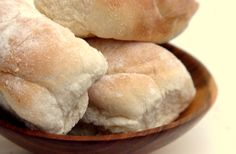 Baps, also known as Morning Rolls - a fluffy yeast roll