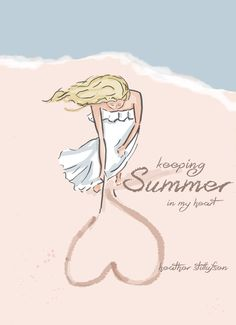 rose hill designs by heather stillufsen Summer Quotes, Beach Quotes, Summer Breeze, Summer Fun, Happy Summer, Hello Summer, Summer Ideas, Rose Hill Designs, Positive Quotes For Women