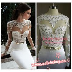 2014 white lace bridemaid dress $149 each at Celebsbuy.cn