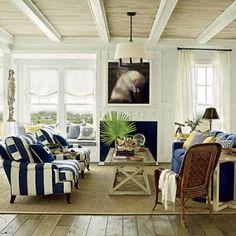 Beach house style - decorating site - mylusciouslife.com - via Coastal Living east-beach-living-room.jpeg