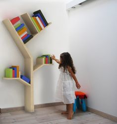 Keep Your Favorite Books Stacked Upon The Branches Of This Tree Bookcase