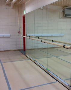 Nice Integra Mirrors U0026 Ballet Barre At Liswerry High School.  Www.theballetbarrecompany.com
