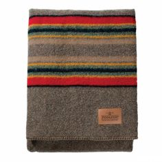 Pendleton Twin Camp Blanket - Mineral Umber