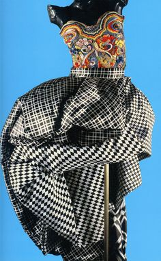 The Art and Craft of Gianni Versace ♦ Evening Ensemble 1990-91 ♦ scanned by Timeless Vintage Threads