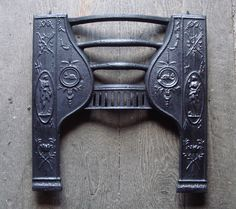 Small Georgian Hob Grate Front by Carron Co of Circa 1800 Antique Interior, Architectural Antiques, Georgian, Door Handles, Victorian, Architecture, Accessories, Arquitetura, Georgian Language