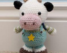 Crochet Amigurumi Pattern  Simi the Monkey por littlemuggles