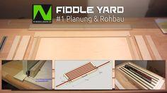 N-Modellbahn - #1 Fiddle Yard Planung & Rohbau
