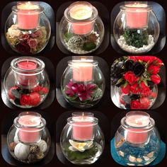 Stunning decorating ideas for your Clearly Creative GloLite Jar Holder by www.angelascreations.partylite.com.au