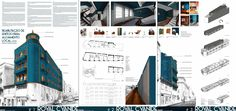 BUILDING REHAB IDEA COMPETITION - Project presentation board - #noarq #competition by José Carlos Nunes de Oliveira - © NOARQ - Photography by NOARQ