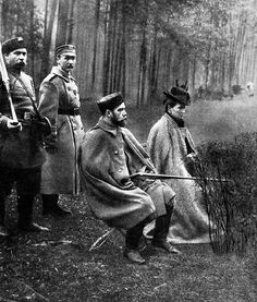 Tsar Nicholas II Romanov and Tsarina Alexandra Romanov  they loved to go hunting on the palace grounds ... Queen Elizabeth II is also an avid hunter ...
