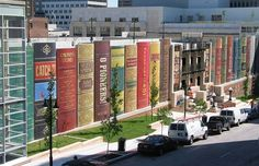 Kansas City Public Library's Parking Garage made Conde Nast Traveler magazine's list of amazing parking garages around the world!